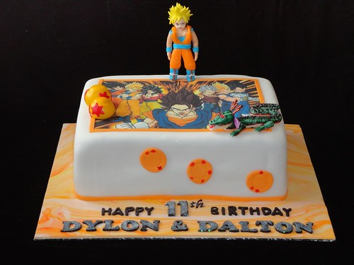 Pasteles Decorados de Dragon Ball: Decoración de Tortas de Dragon Ball