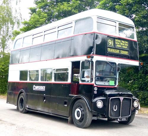 WLT 655 'Confidence' No. 15. AEC Routemaster / Park Royal on Dennis Basford's railsroadsrunways.blogspot.co.uk'