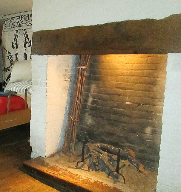 Fireplace, Shakespeare's House, Stratford-upon-Avon