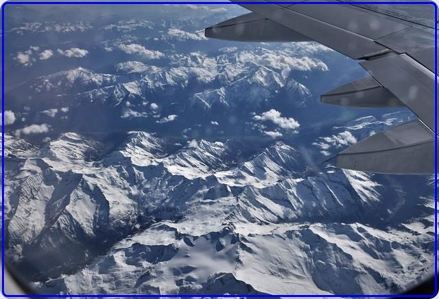 Flying over Austrian Alps-1