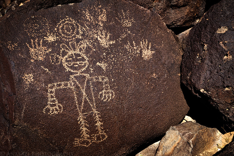 Piedras Marcadas Canyon Petroglyphs