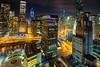 Chicago at night by tquist24