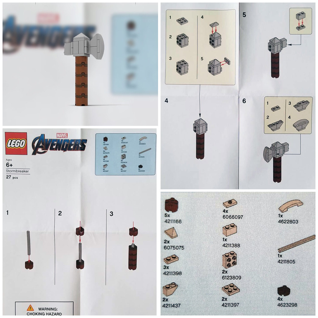 Lego Store Mini-build STORMBREAKER instructions.