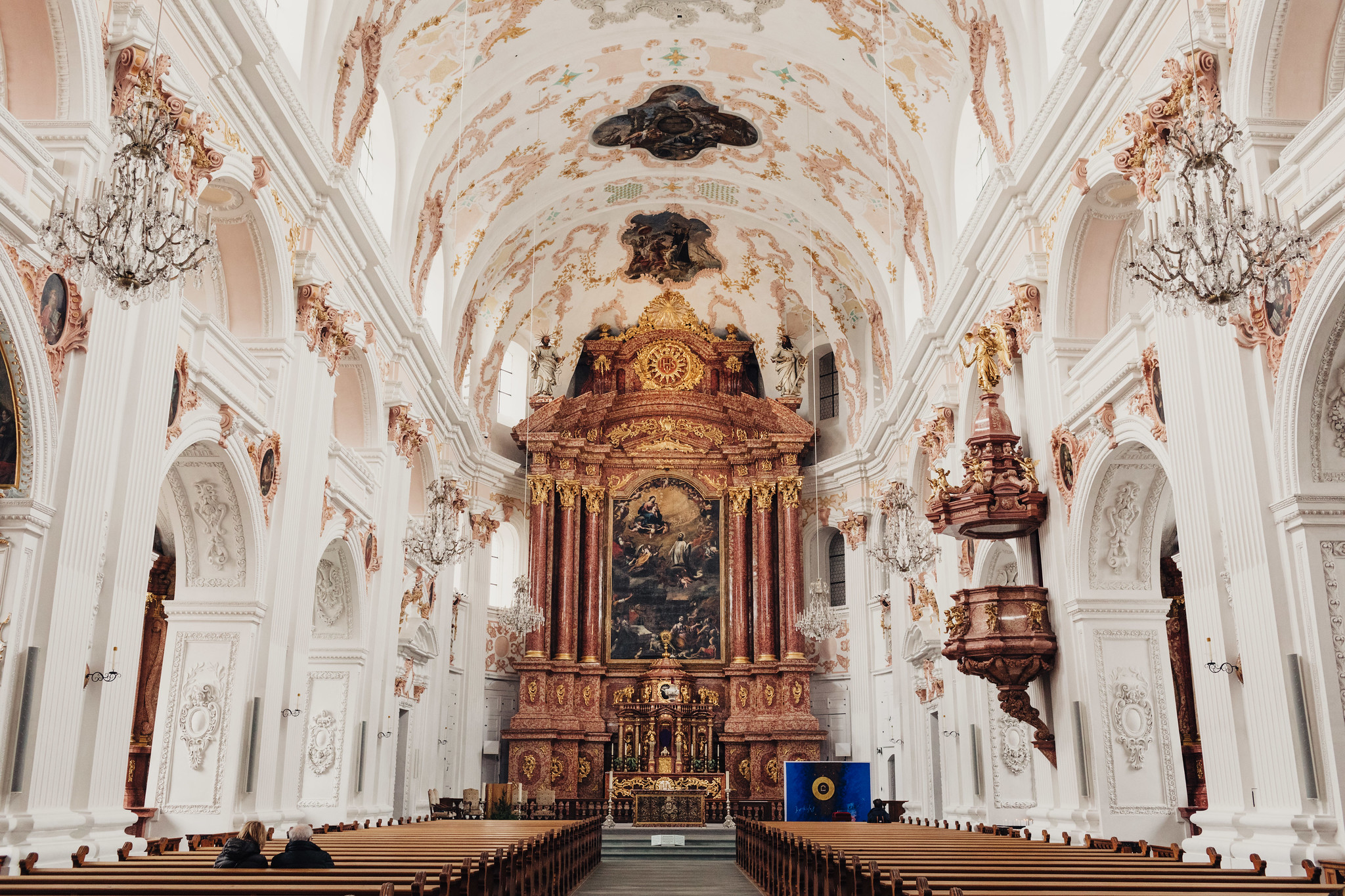 Inside the Jesuit Church