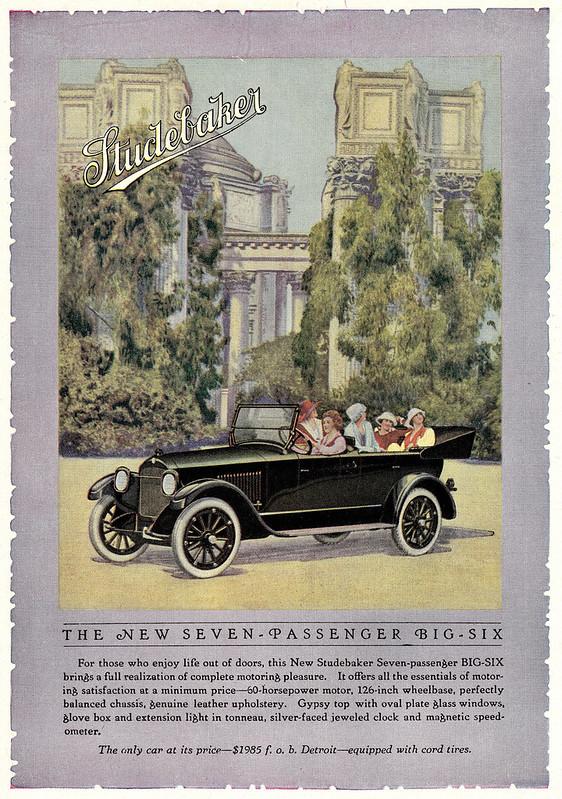 1919 Studebaker Big Six Seven-Passenger Touring