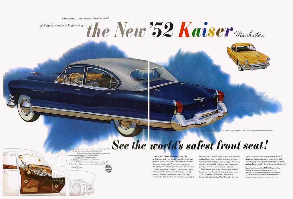1952 Kaiser Manhattan