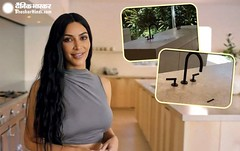 Viral: Hot Actress Kim Kardashian Shared A Video Of Her Bathroom