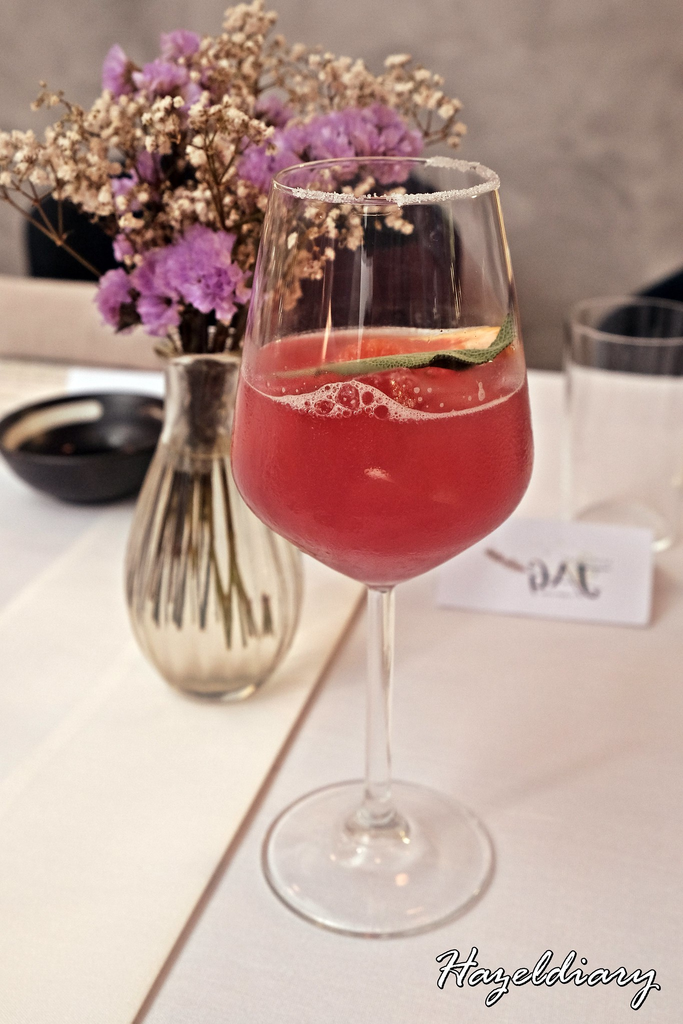 Restaurant JAG-Duxton Road-Mocktail Drink