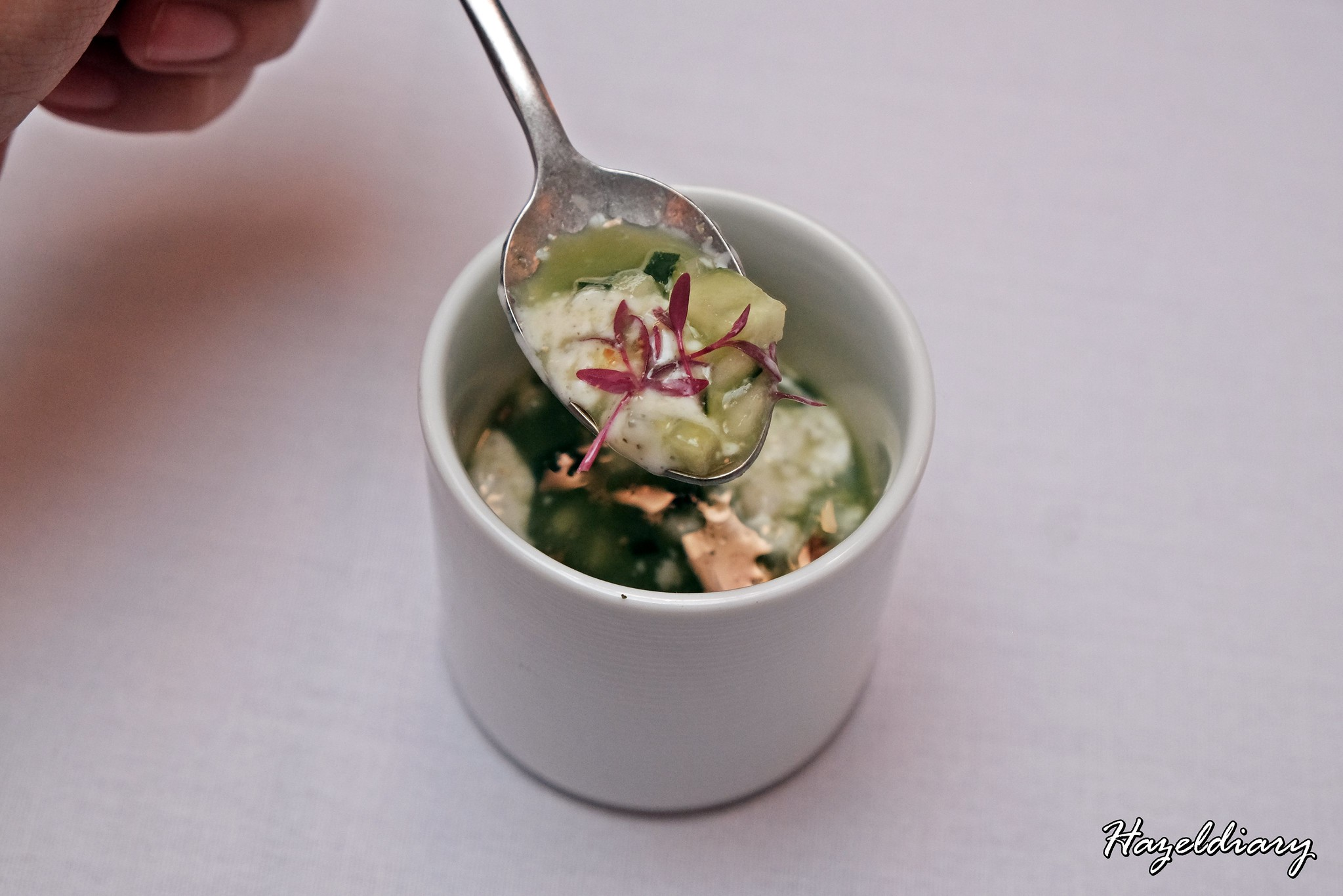 Restaurant JAG-Duxton Road-Cucumber water