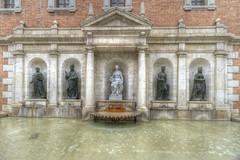 Fountain in Plaça del Col·legi del Patriarca, Valencia