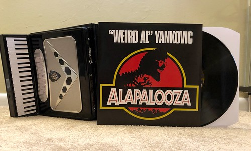 Quot Weird Al Quot Yankovic Alapalooza Lp From Squeeze Box Acc