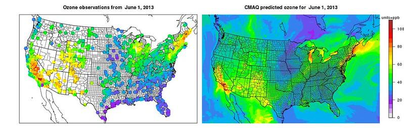 CMAQ是開放源的空品監測模式系統,可協助社區增能,監測空污現況。圖片來源:美國環保署網站