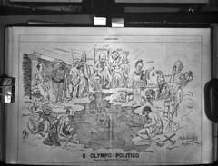 Caricatura de Raphael Bordallo Pinheiro. Portugal