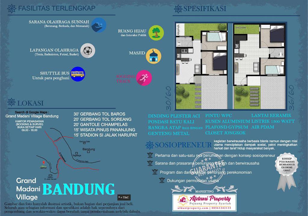 Brosur Grand Madani Village Bandung