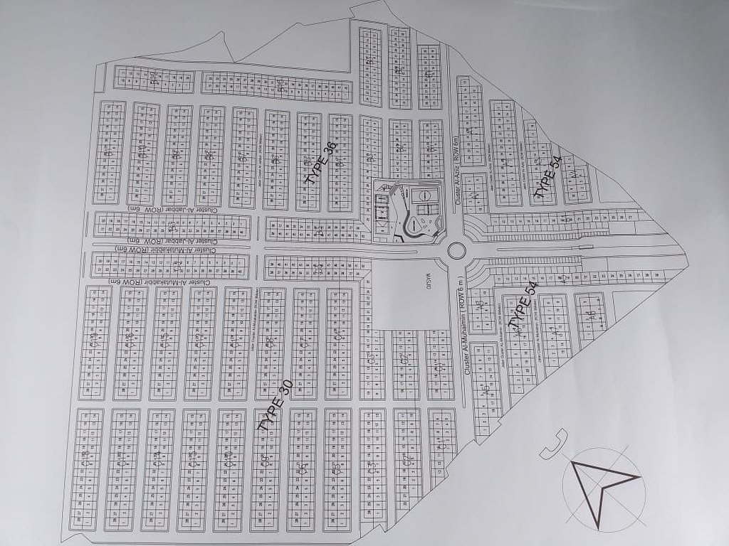 Siteplan Awal Grand Madani Village Bandung