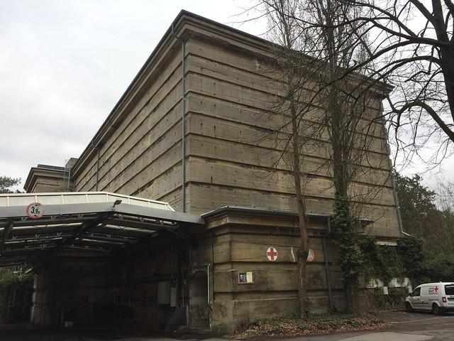 1943 Berlin Luftschutzbunker der Reichsluftschutzschule Heckeshorn 25mH Am Großen Wannsee 80 in 14109 Wannsee