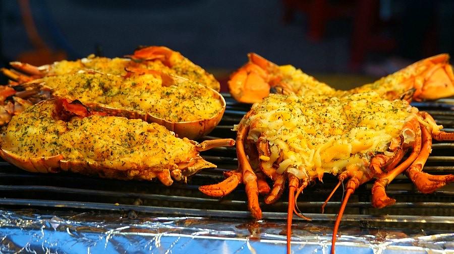 Taipei Night Market Seafood
