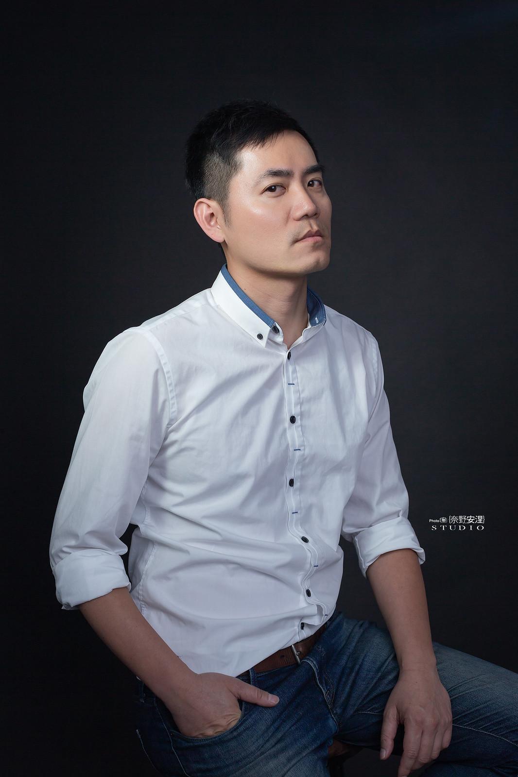 南部髮品金牌型男業務-昇澤髮品 |攝影白棚1-4