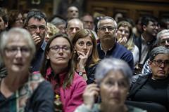 dt., 23/04/2019 - 18:15 - 23.04.2019 Barcelona.Pregó de la Lectura de Sant Jordi, amb una conversa entre l'escriptor Mia Couto i la periodista Anna Guitart. El Pregó està organitzat per Biblioteques de Barcelona en col·laboració amb les editorials Alfaguara i Edicions del Periscopi. L'alcaldessa de Barcelona, Ada Colau, ha presidit l'acte.