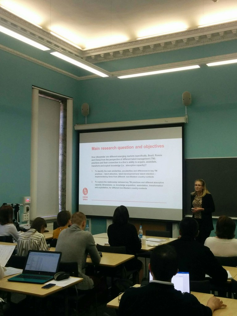 Аспирант Луиза Селивановских представила своё диссертационное исследование