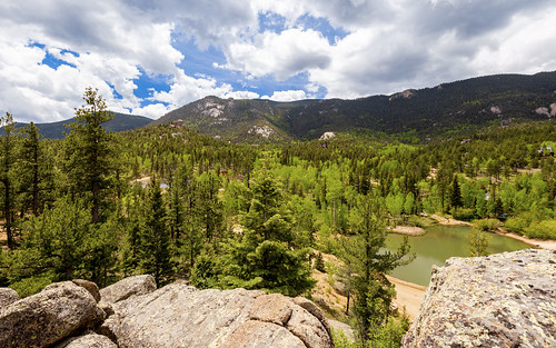 sanden colorado canon6d ef1635mm land forest trees mountain crystalpark blue sky clouds rocks outdoors landscape