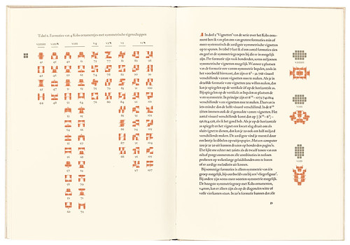 Kaba Ornament, Volume 1, Form, 2002, designed, set, printed and published by De Does under his imprint Spectatorpers.