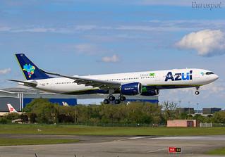 F-WWYP Airbus A330 Neo Azul | by @Eurospot