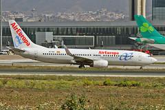 EC-IDA Boeing 737-86Q Air Europa AGP 02-04-19