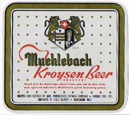 Muehlebach-Kroysen-Beer-Labels-Geo-Muehlebach-Brewing-Co