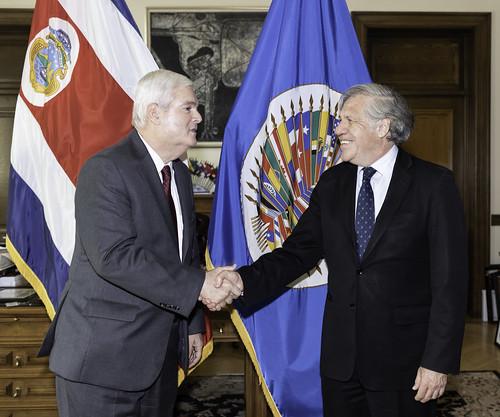 OEA y Costa Rica promoverán juntos buenas prácticas en desarrollo sostenible en países del continente