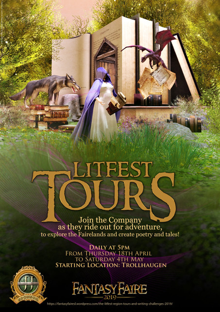 FF 2019 - LitFest Tours, daily at 5PM slt