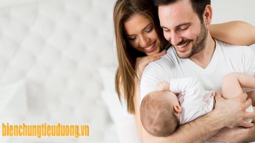 Vợ chồng bị tiểu đường vẫn có thể sinh con và sinh con khỏe mạnh.