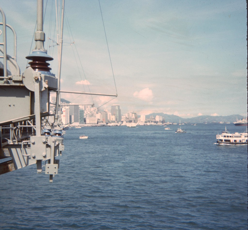 Intrepid in Hong Kong Harbor, 1967 | At Sea Aboard Intrepid,… | Flickr