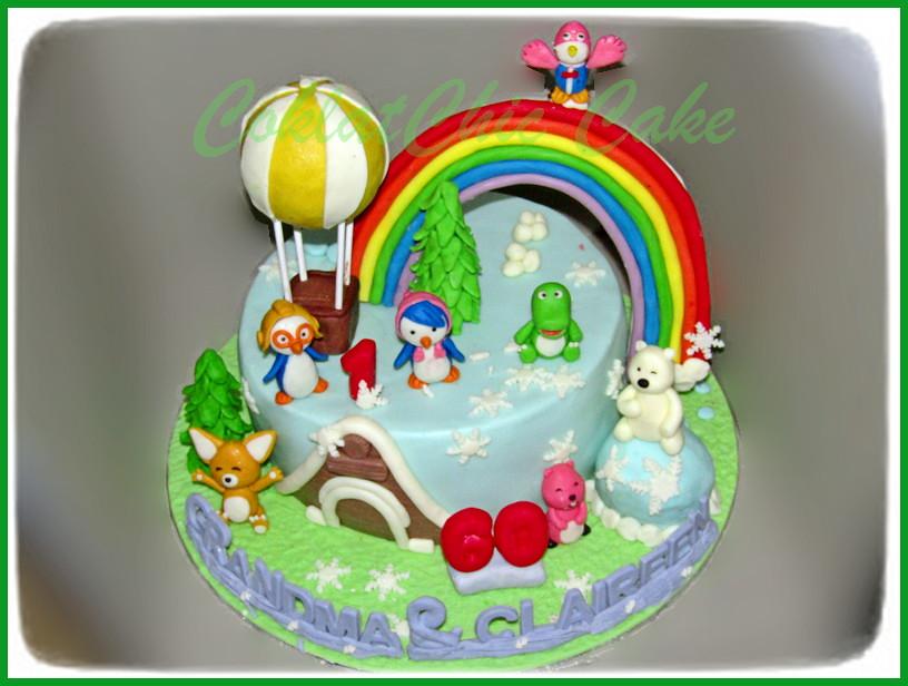 Cake Pocoyo GRANDMA & CLAIREEN 22 cm