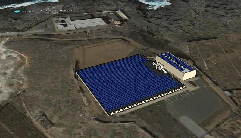 COMSA Industrial and TFM to install 988 photovoltaic panels in Gran Canaria