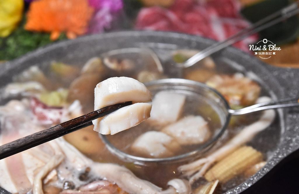 鍠樂極上和牛海鮮鍋物 菜單menu  台中吃到飽45