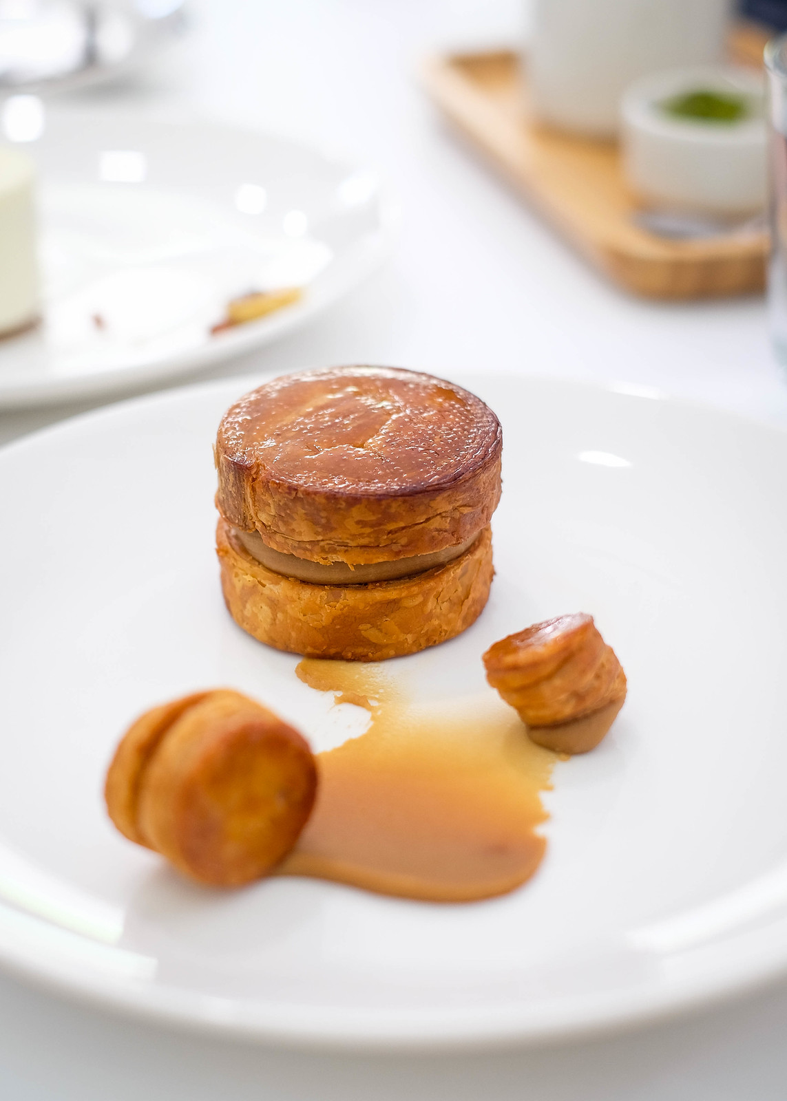 Puff with Earl Grey Fillings