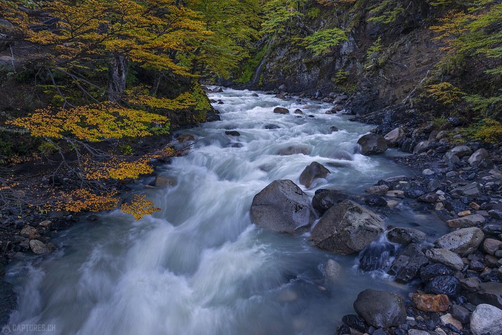 River flow - Torres del Paine