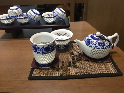 tea set, complete with Gawain. From Travel to Asia: A New Understanding–Taipei, Taiwan