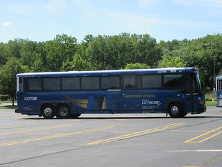 2017 D4500CT #17136 operated by Academy Bus owned by New