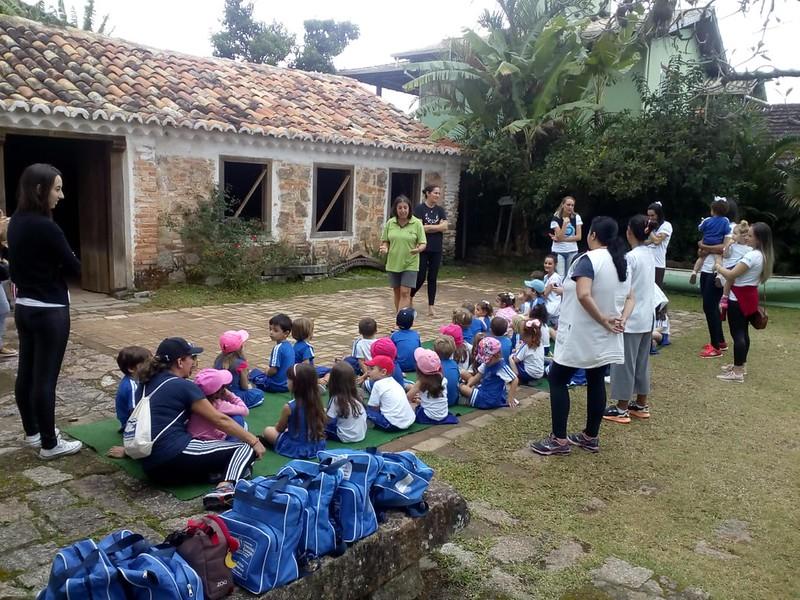 Diversificado Infantil visita o Engenho e Casa dos Andrades