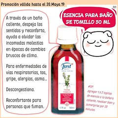 Esencia de Tomillo para Baño!! En Promo !! #Esencia #Tomillo #Inmersión #Baño #BañoCaliente #Despeja #Reconforta #Alivia #Descongestiona  #VíasRespiratorias #Tos #Catarro #Gripe #Alergia #Asma #Otoño #Promo #PromoMensual #NoTeLaPierdas #VivíMejor @Consult