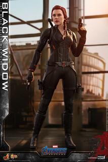 這次的黑寡婦頭雕太讚啦~ Hot Toys - MMS533 -《復仇者聯盟:終局之戰》黑寡婦 Black Widow 1/6 比例人偶作品