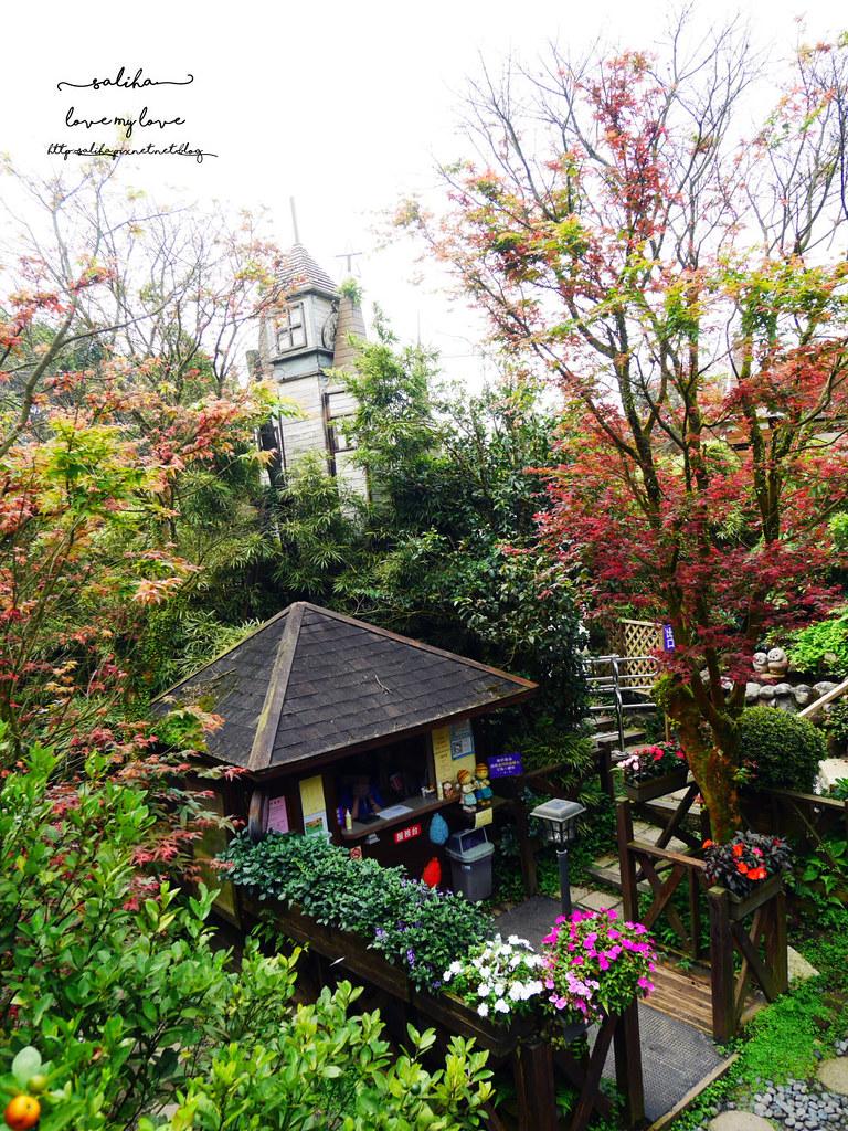 陽明山一日遊ig打卡景點推薦台北奧萬大楓葉季景觀餐廳親子戲水 (3)