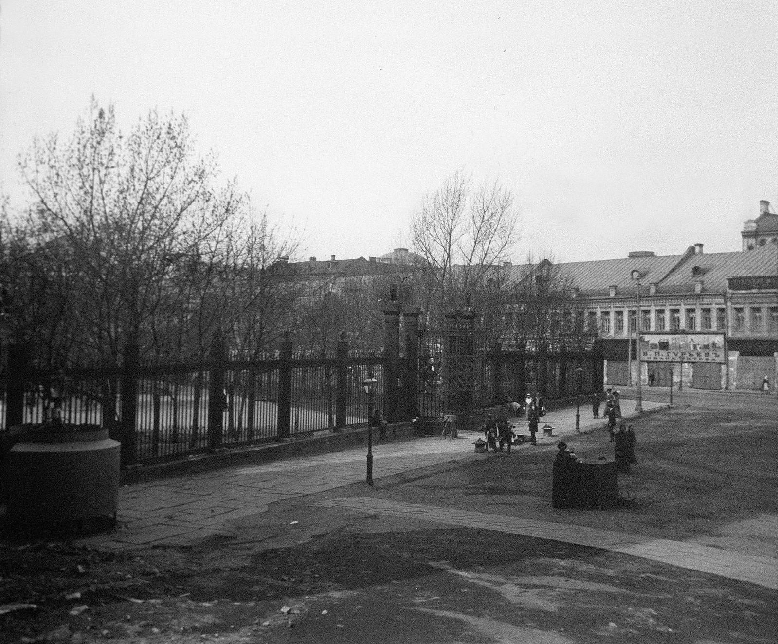 Ограда Александровского сада
