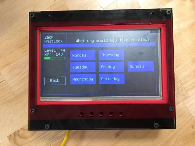 Parental Digital Assitant (PDA) Chore Tracking System