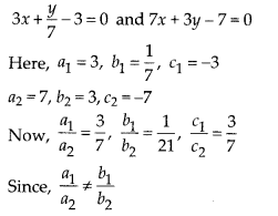 NCERT Exemplar Class 10 Maths Chapter 3 Pair of Linear Equations in Two Variables 3.3 Q2a