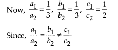 NCERT Exemplar Class 10 Maths Chapter 3 Pair of Linear Equations in Two Variables 3.3 Q1
