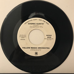 YELLOW MAGIC ORCHESTRA:COSMIC SURFIN'(RECORD SIDE-B)