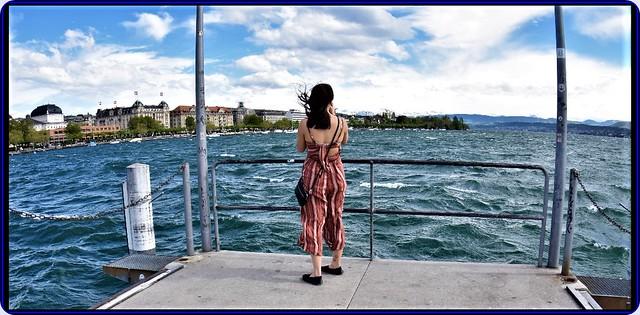 Storm on Zurich lake - 4